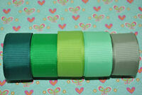 """7/8""""grosgrain ribbon solid 25 yards wholesale 5 yard each of 5 colors hairbow"""