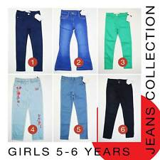 Girls Jeans 5-6 Years Brand New MORE THAN 70% OFF (L21)