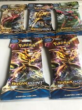 5 Packs Pokémon XY BREAKPoint Blister trading card game Lot of 5 💯 Authentic