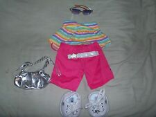 BUILD A BEAR WORKSHOP OUTFIT WITH SHOES, SUNGLASSES, AND PURSE