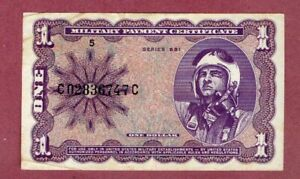 Banknotes Paper money old American Military RARE see scans for condition ##058