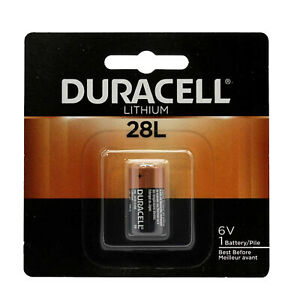 Duracell 28L Lithium Battery Replacement for 46V 2CR11108, L544, PX28L