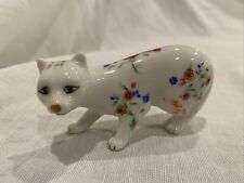 New ListingThe Franklin Mint Curio Cabinet Cat Collection Faience Figurine
