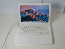 "Apple Macbook A1342 13"" Unibody - Core 2 Duo 2.26GHz 2GB 250GB HDD OSX Sierra"