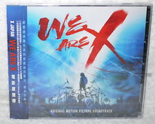 X JAPAN We Are X Original Sound Tracks OST Taiwan CD+poster (Soundtrack)