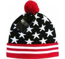Patriotic Flag USA KB Ethos Unisex Premium  Beanie skully hat cap