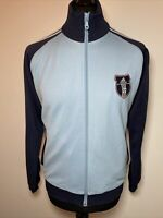 Adidas 90's Vintage Indie Blue Soccer Football Tracksuit Trackie Track Zip Top S