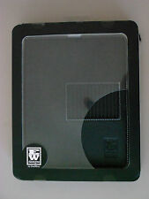 EW DESIGNS BY EASTWEAR LEATHER FOLIO CASE FOR IPAD 2, 3, 4 BUILT-IN STAND BLACK