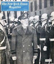 EISENHOWER CHURCHILL - LEO HERSHFIELD 1952 January 13 SCHWEITZER JUSTICE DOUGLAS
