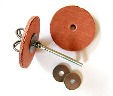 3 Stück Wackel - Gelenksatz für Teddybär mit Pappscheiben 20 mm - Teddy Gelenk