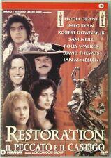 Dvd Restoration - Il peccato e il castigo - CG con Robert Downey Jr 1995 Usato