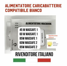 ALIMENTATORE MAC APPLE MAGSAFE 1 45W 60W 85W MACBOOK AIR CARICABATTERIA PRO RETI