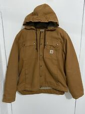 NWOT Mens Carhartt Winter Jacket Sz large Brown Camel