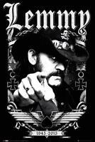 Motörhead Poster Lemmy 1945-2015 RIP - Band Merch Plakat Hochformat 61 x 91,5 cm