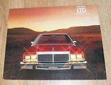 USA - Ford Ltd Brochure 1979 2 Door Sedan Wagon Country