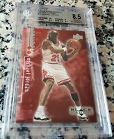 MICHAEL JORDAN 1998 UD Black DOUBLE Diamond SP /3000 BGS 8.5 9.5 10 HOF MVP $$$