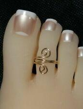 Toe Ring  Gold  adjustable