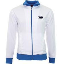 Veste rugby Rétro Canterbury Blanche / Bleu Taille XL