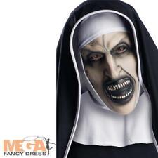 The Nun Mask Adults Fancy Dress Demon Mens Ladies Halloween Costume Accessory