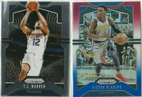 2019-20 PANINI PRIZM BASKETBALL Victor Oladipo T.J. Warren Indiana Pacers