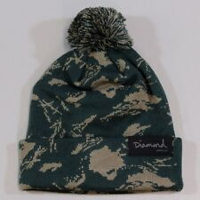 8964b9bc3e7 Diamond Supply Co Tundra Pom Pom Beanie in Sycamore Camo