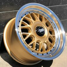 Motorsport Gold 17X8.5 +35 ESM-004M 4x108 Ford Focus St Wheels Rims