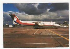Dan Air BAe146-300 Aviation Postcard, A995