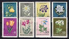 Bulgaria - 1963 Flowers - Mi. 1407-14 MNH