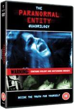 The Paranormal Entity Quadrilogy (4 Films) DVD NEW dvd (ABD1075)