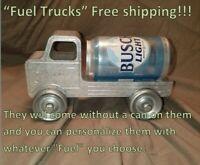 Beer sign Coca sign Fuel Truck Bud Coors Miller Budweiser Coke Dew Busch Pepsi