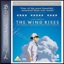 THE WIND RISES - THE STUDIO GHIBLI COLLECTION  **BRAND NEW DVD*