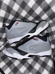 Nike Jordan Jumpman Quick 23 Men's 13 Shoes Particle Grey/Gym Red AH8109-006