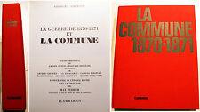 COMMUNE/1870-1871/G.BOURGIN/ED FLAMMARION/1971/SUPERBE ICONOGRAPHIE/ETAT DE NEUF