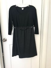 Pre-owned Motherhood Maternity Belted Dress Size S