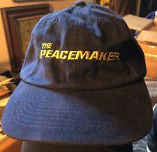 VINTAGE THE PEACEMAKER Ball Cap 1997 Film Crew Cast DREAMWORKS SKG NEW
