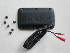 Golf Cart Brake Light Switch Part, Universal Pad EZGO Club Car Yamaha w/ Screws
