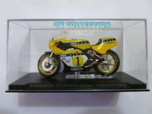 Modellino Moto GP scala 1:24 _ YAMAHA YZR500 Kenny Roberts (1979).