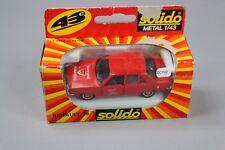 ZC702 Solido 1318 Véhicule Miniature Metal 1/43 Renault 18 Sapeurs Pompiers