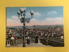 ITALY FIRENZE GENERAL VIEW FROM MICHELANGELO SQUARE POSTCARD