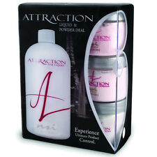 NSI Attraction Acrylic Nails kit 3 x 40g Powders & 240ml Liquid Monomer