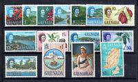 Grenada QEII 1966 LHM set mint SG231-245 WS18502
