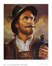 Herrmann Gaertner Adler-Jaeger Poster Kunstdruck Bild 36x28cm - Portofrei