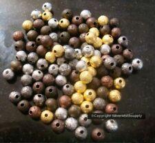 Cuentas redondas 6 mm para joyería artesanal