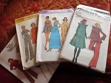 Lot 4 NEW UNCUT Sz 12 Simplicity sewing pattern 6415 5735 Butterick HIPPIE DRESS