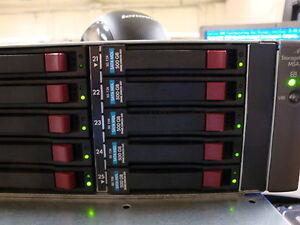 HP MSA70 SAS / SATA Array with  25 Slots