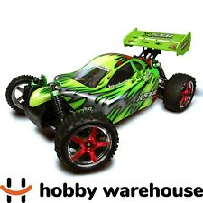 HSP 94106 Mean Green 2.4Ghz 2SP Nitro 4WD Off Road 1/10 Scale RC Buggy