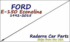 "1992-2015 Ford E-150 Econoline - 32"" Black Stainless AM FM Antenna Mast"