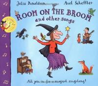 Room on the Broom and Other Songs Book and CD (Book & CD) by Julia Donaldson, NE