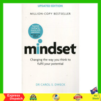 Mindset Updated Edition By Carol Dweck Paperback Book NEW FREE SHIPPING