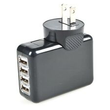 4 in 1 2.1A USB 4 Port Travel AC Plug US Home Wall Power Adapter Charger